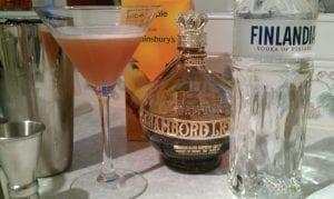 French Martini - Chambord, vodka & pineapple