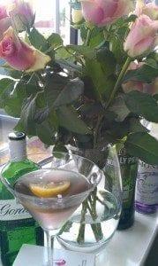 Our Lavender Martini - just imagine