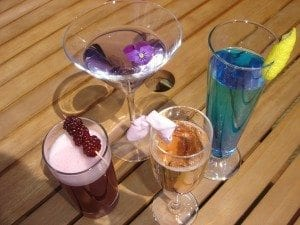 Cocktail glassware