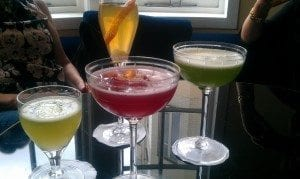 Our cocktail order - if you're heading for the bar - thank you ;-)