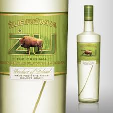 Bison Grass vodka - goes well with pressed apple