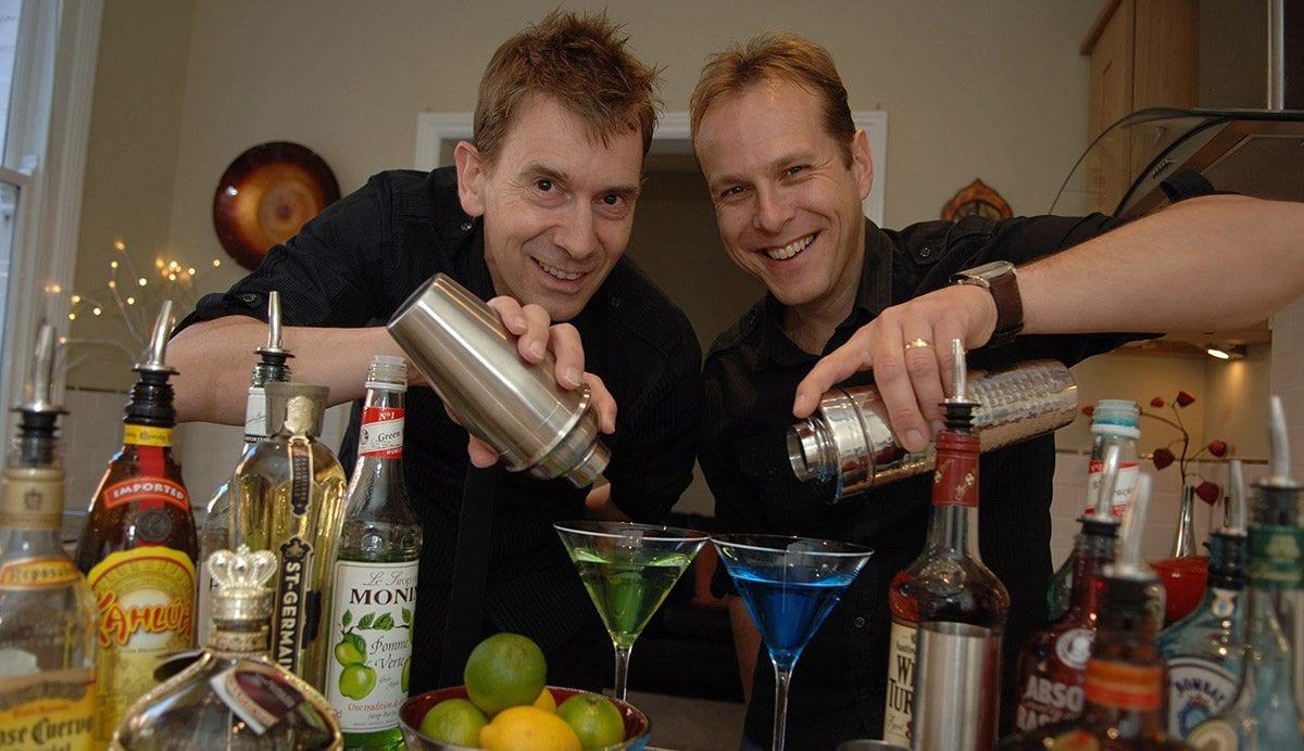 Andrew seaward and Steve Loxton
