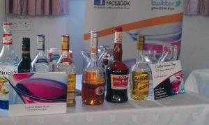 Cocktail ingredients supplied